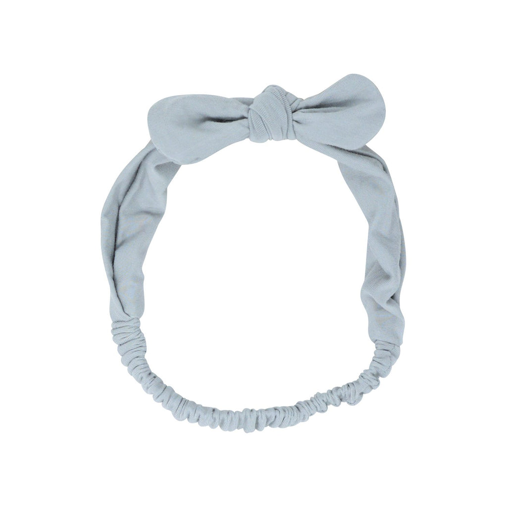 Headband With Bow - Glacial Grey - Sweet Bamboo