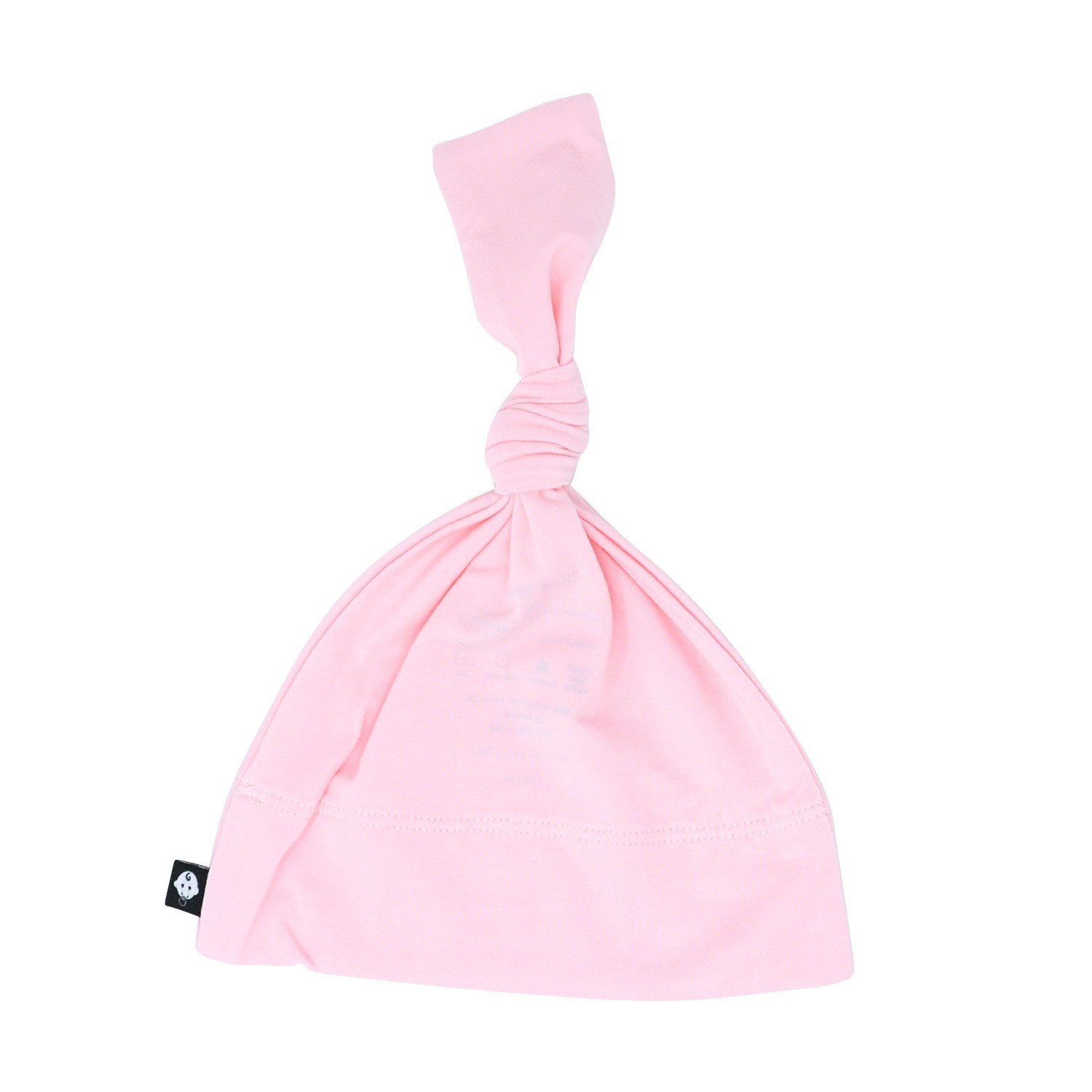 Knot Hat -Baby Pink Solid - Sweet Bamboo