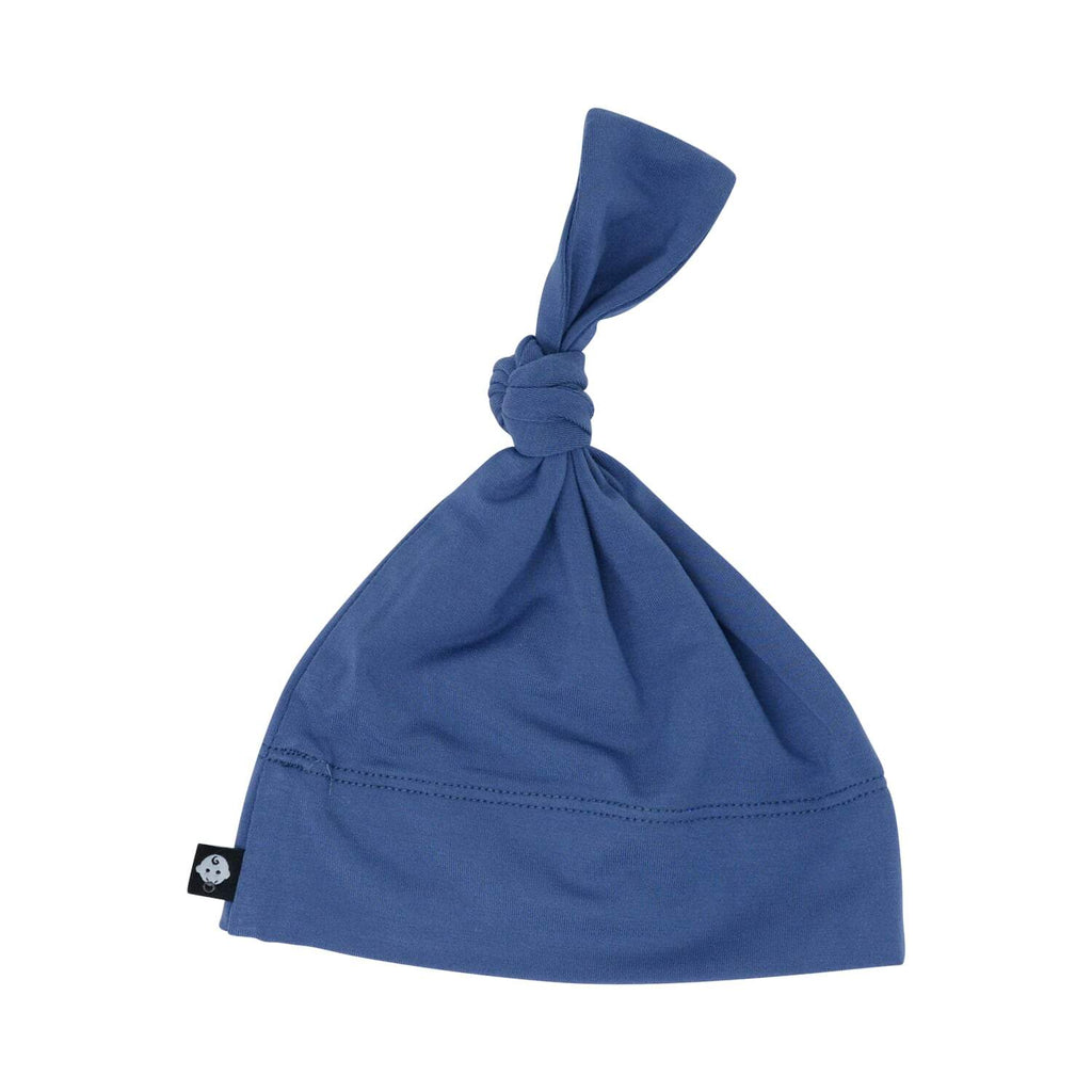 Knot Hat - Bijou Blue Solid - Sweet Bamboo