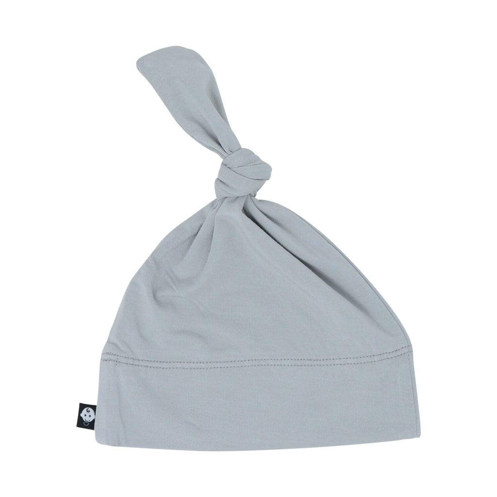 Knot Hat - Grey Solid - Sweet Bamboo