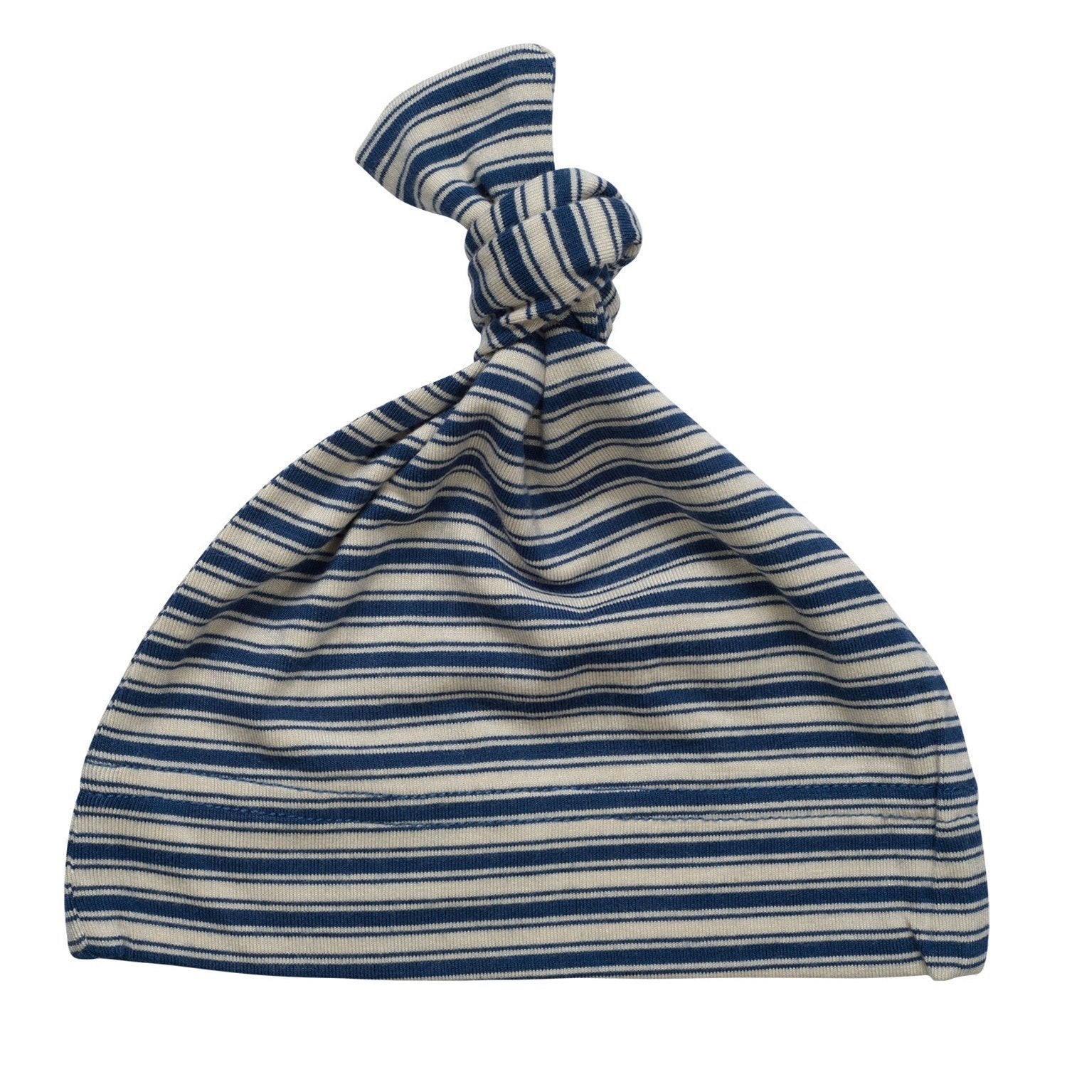 Knot Hat - Nautical Stripe - Sweet Bamboo
