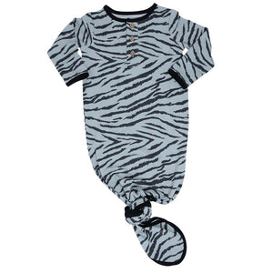 Knotted Gown -Tiger Stripe - Sweet Bamboo