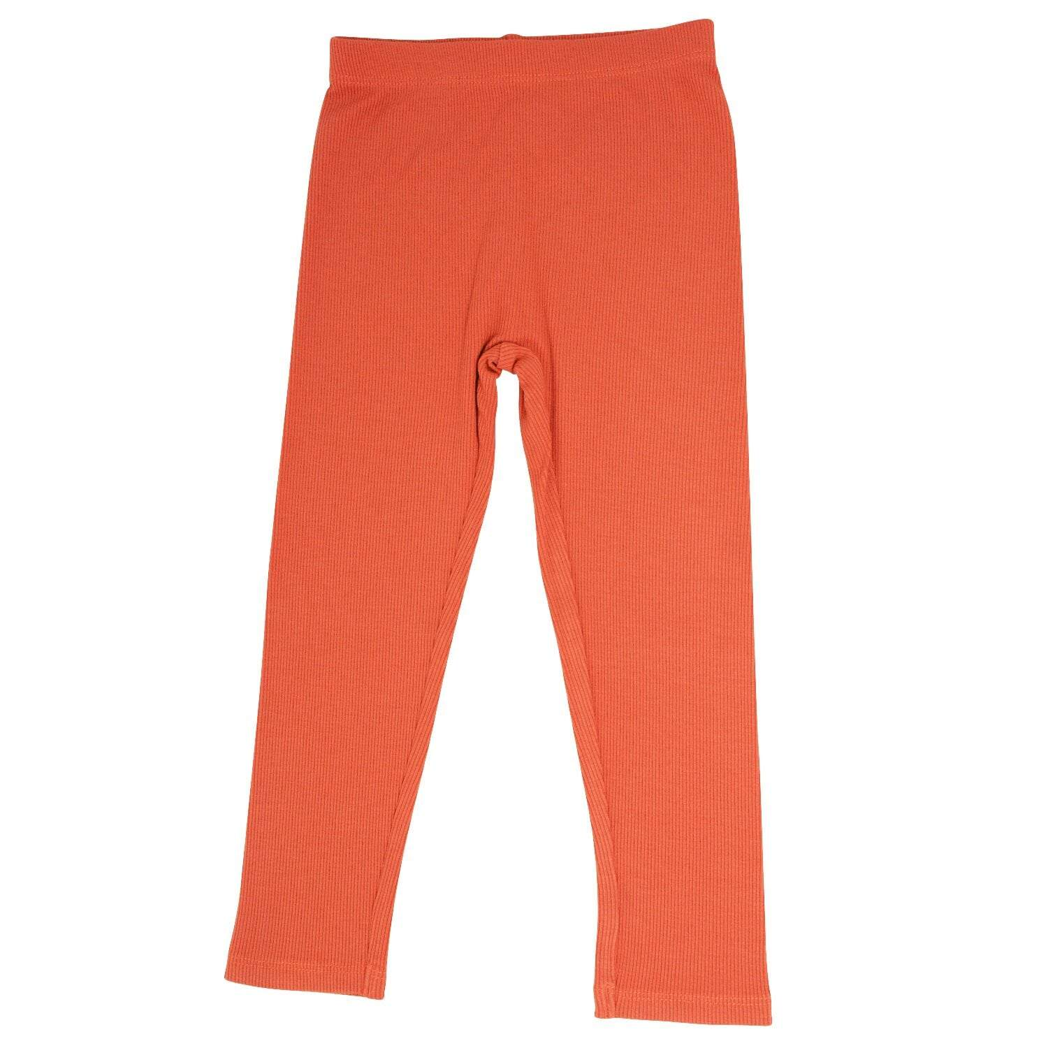 Leggings - Apricot Ribbed - Sweet Bamboo