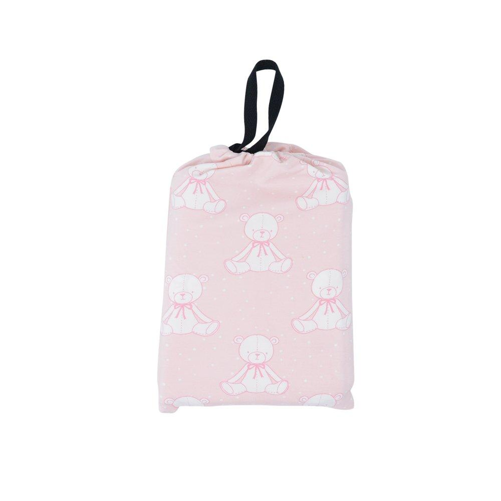 Multi-Purpose Cover-up - Bears Pink sweetbambooclothing