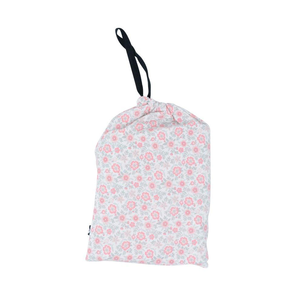 Multi-Purpose Cover-up - Flowers Pink sweetbambooclothing