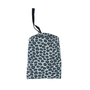 Multi-Purpose Cover-up - Leopard Grey - Sweet Bamboo