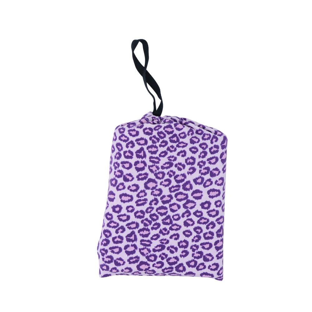 Multi-Purpose Cover-up - Leopard Purple sweetbambooclothing