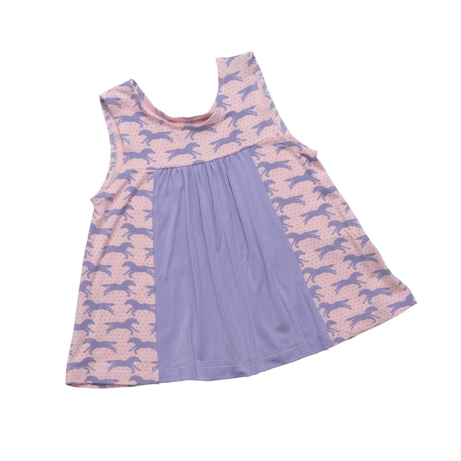 Panel Tank - Fillies/Light Purple - Sweet Bamboo