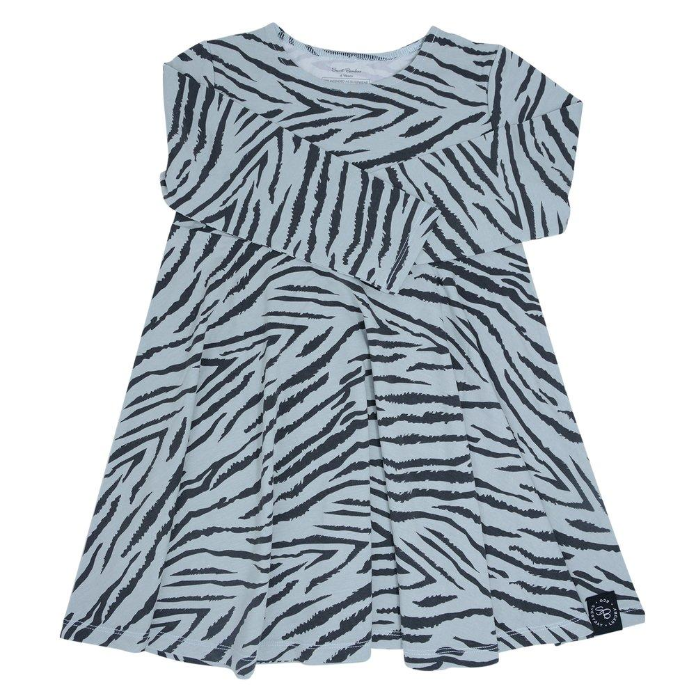 Swirly Girl Dress - Tiger Stripe - Sweet Bamboo