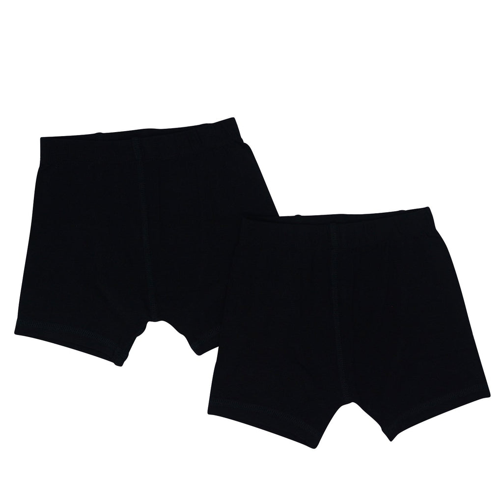 Underwear Brief Set - Black/Black - Sweet Bamboo