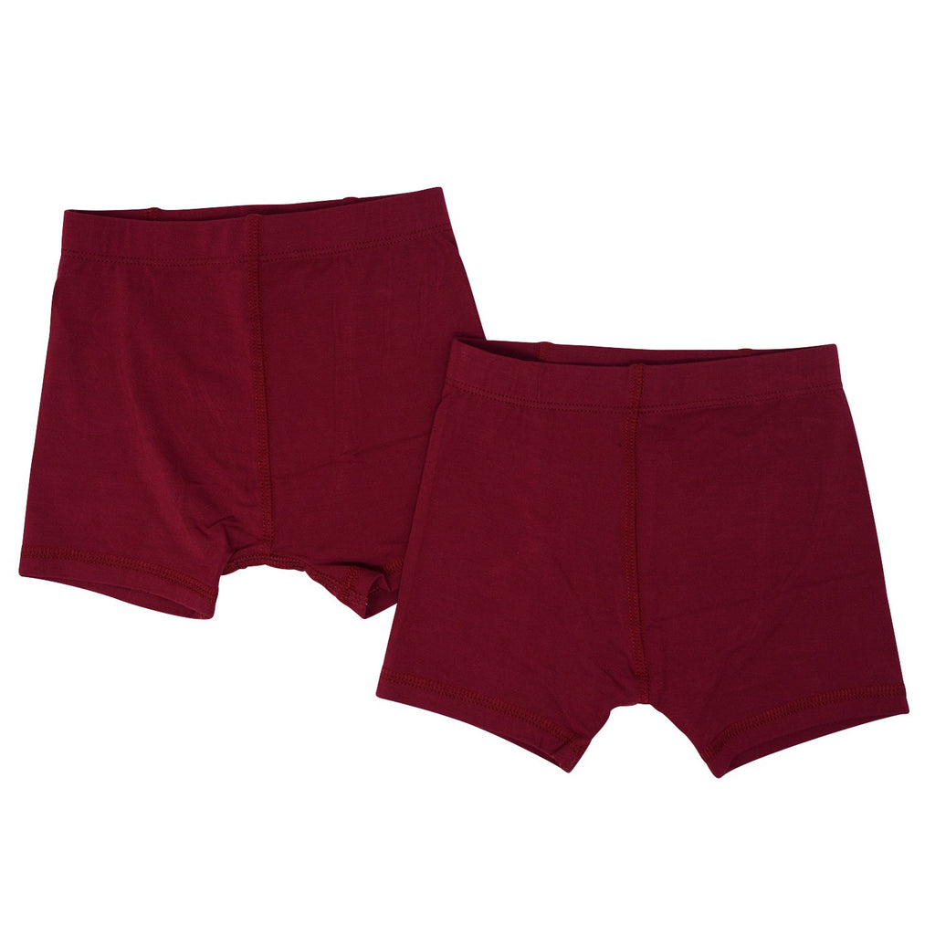 Underwear Brief Set - Rhubarb/Rhubarb - Sweet Bamboo