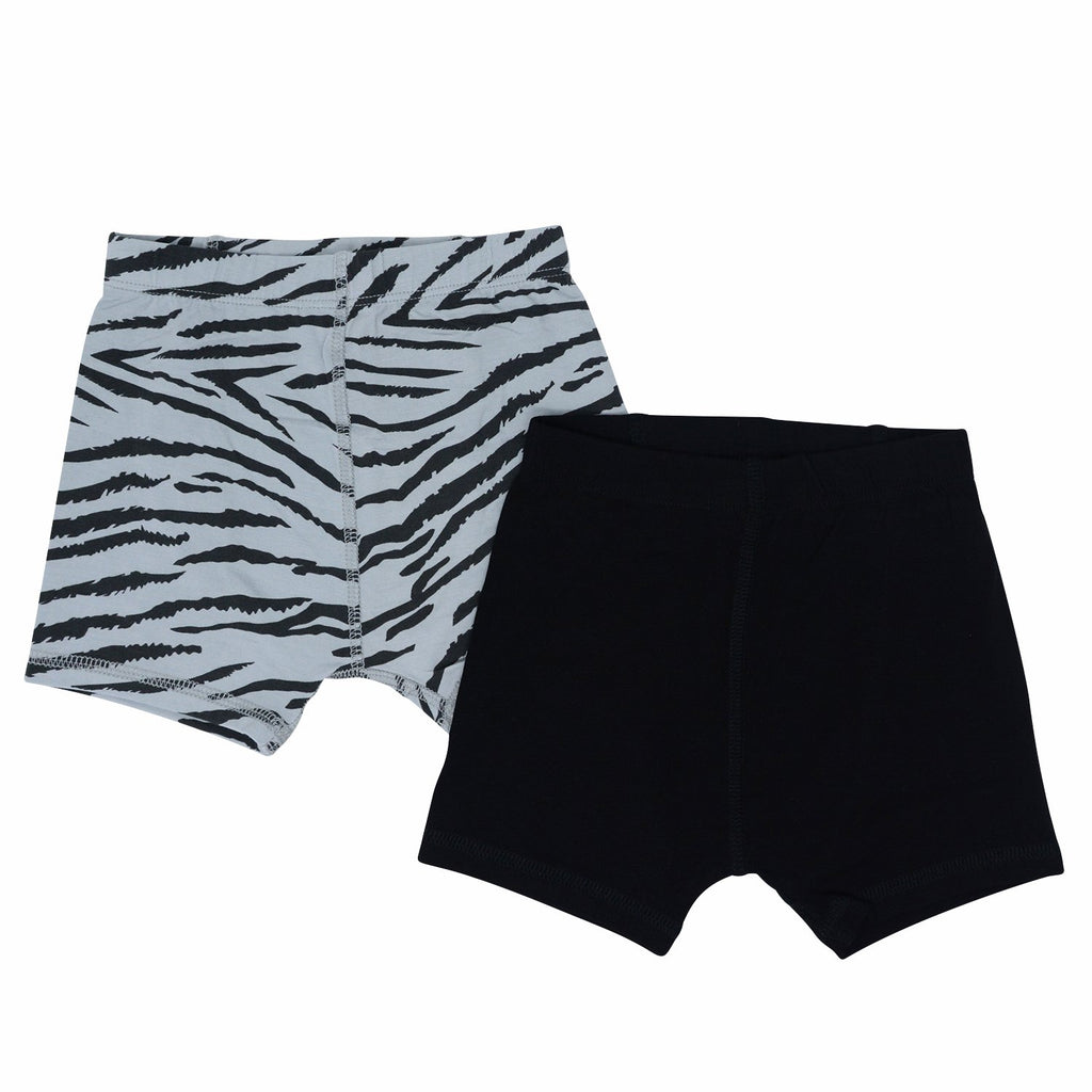 Underwear Brief Set - Tiger Stripe/Black Sweet Bamboo