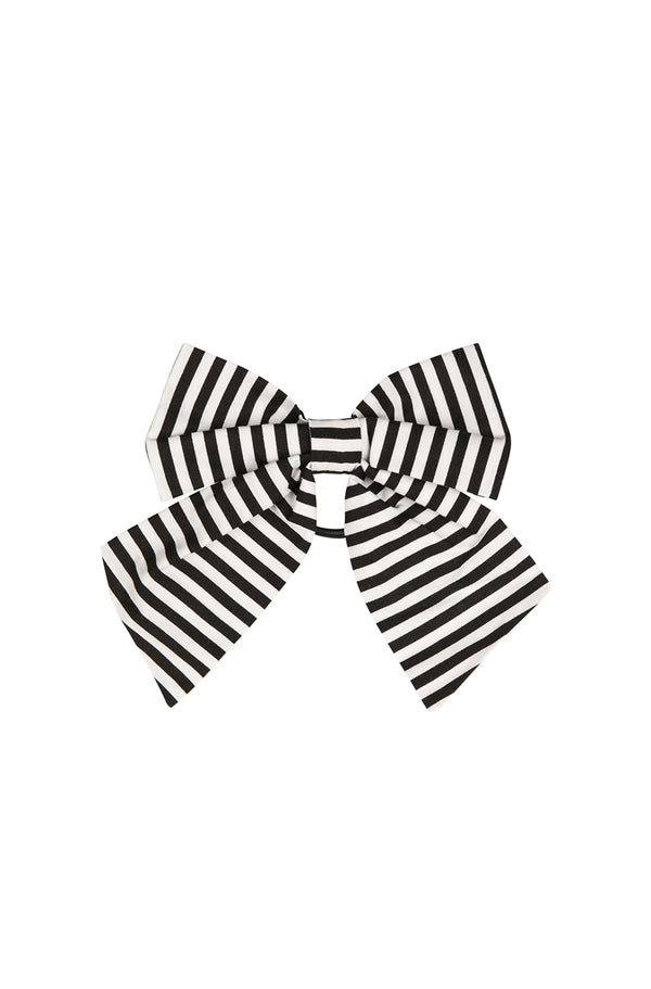Dandy Striped hair bow