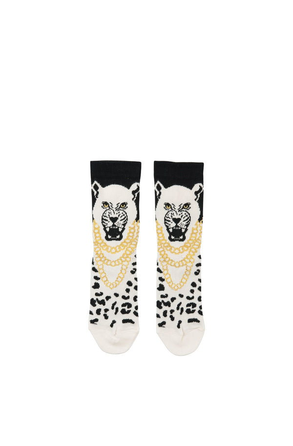 White Predator Socks