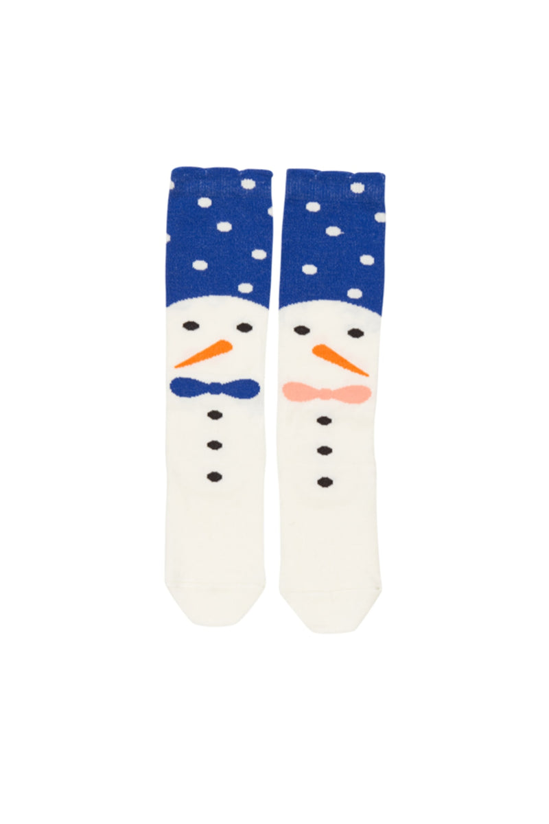 Snow Family knee Socks