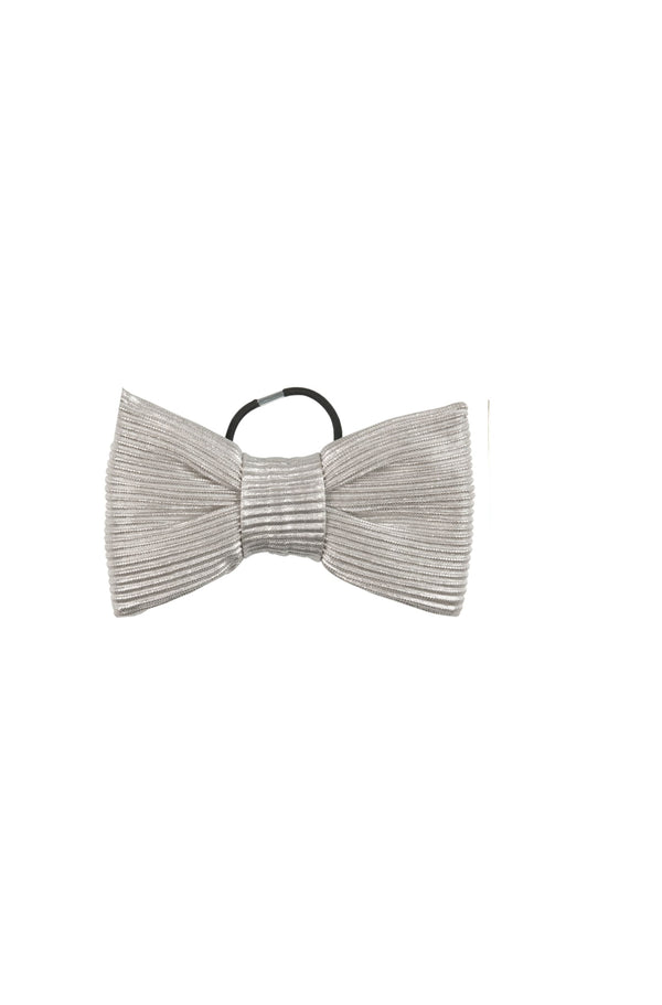 Bow Fantastic Silver hairbow