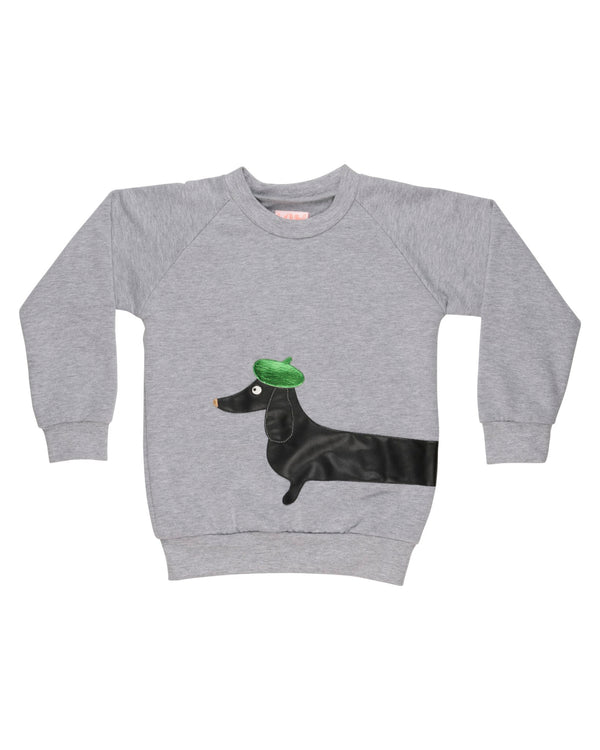Sausage Grey sweatshirt