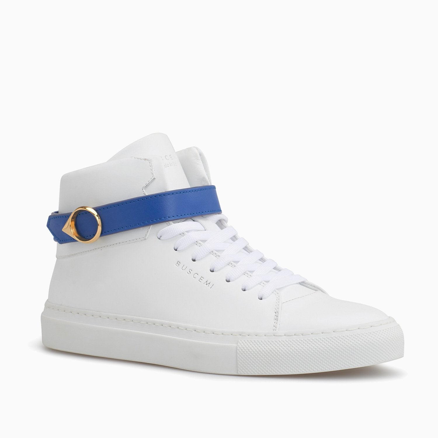 100MM Belt | White-Buscemi