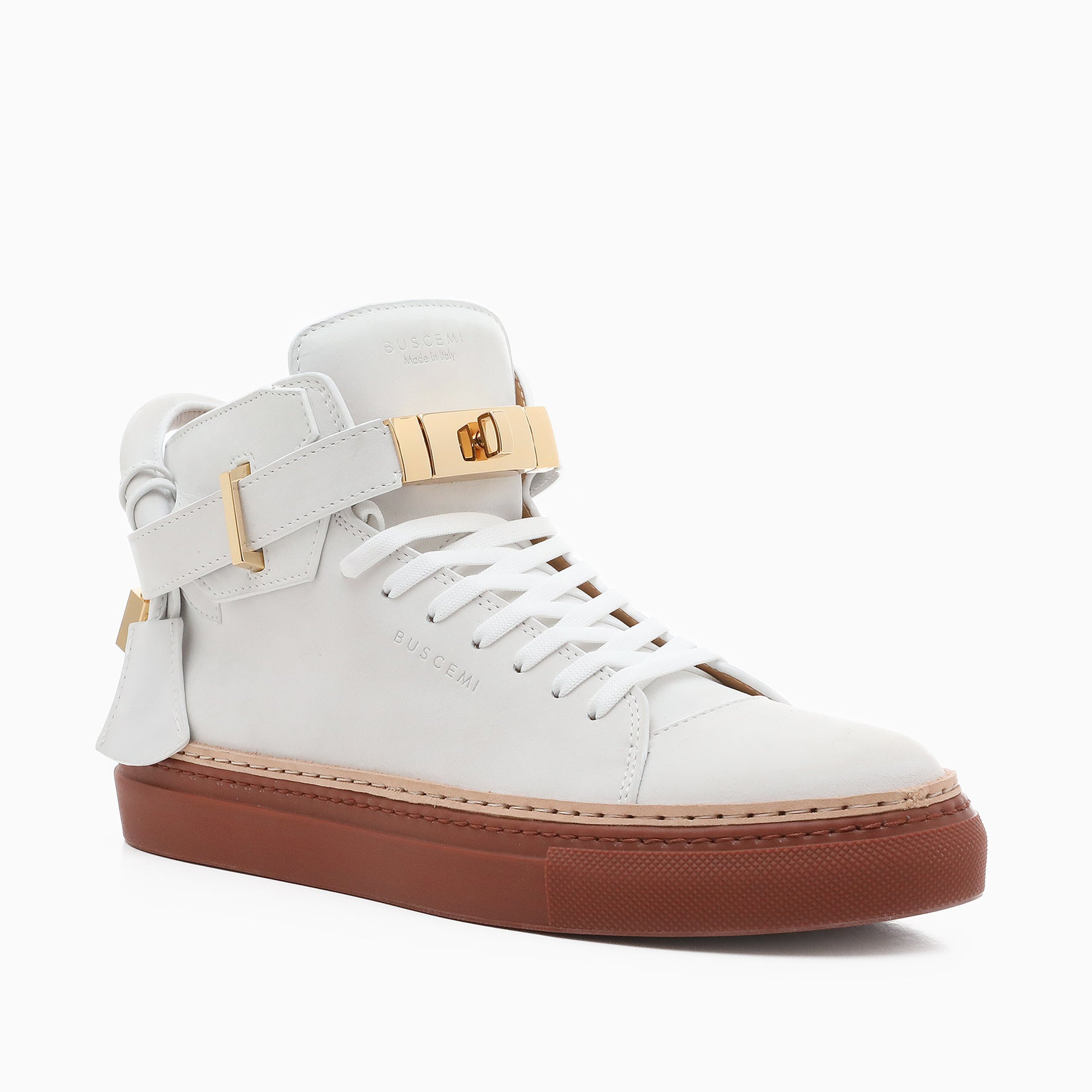100MM Nubuk | White-Buscemi