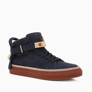 100MM Nubuk | Navy-Buscemi