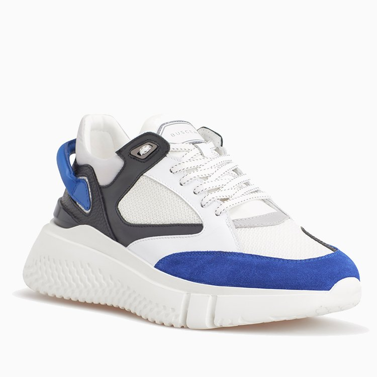 Veloce | Off White / Royal