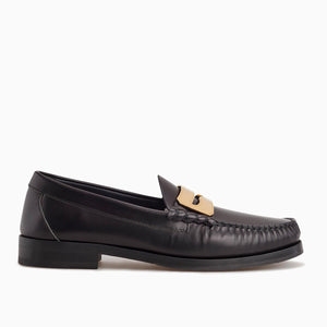 Town Loafer | Black/Gold