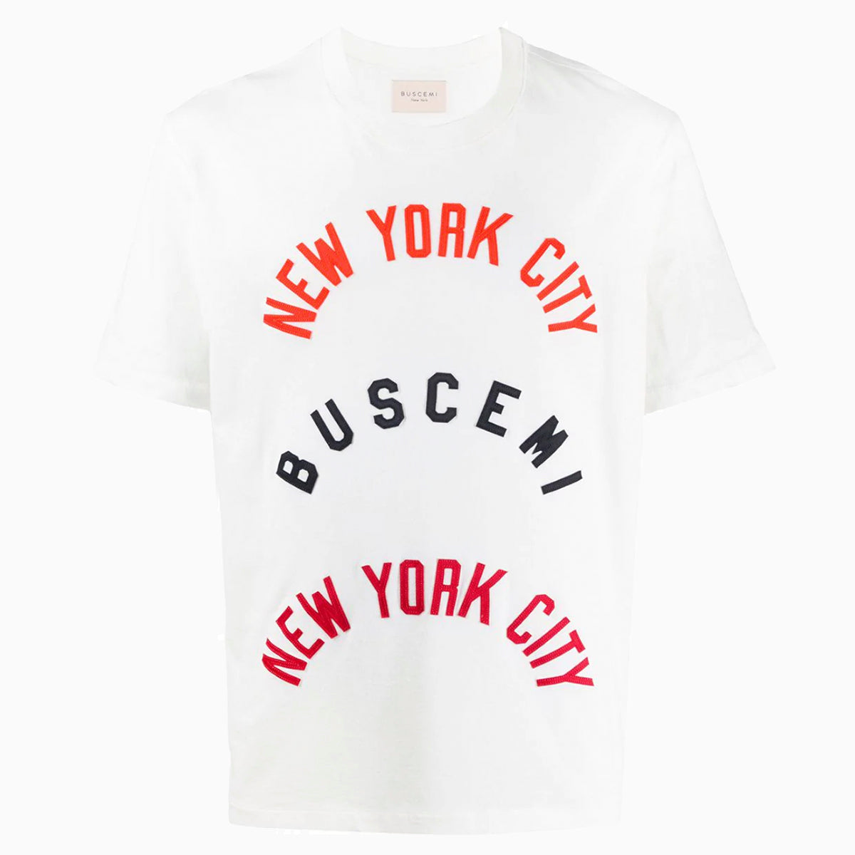 Twill Over Fit Tee | White-Buscemi