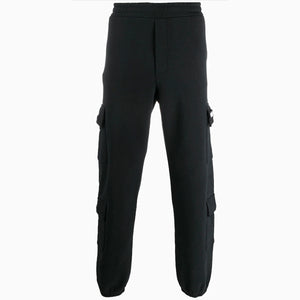 Cargo Sweatpants | Black-Buscemi