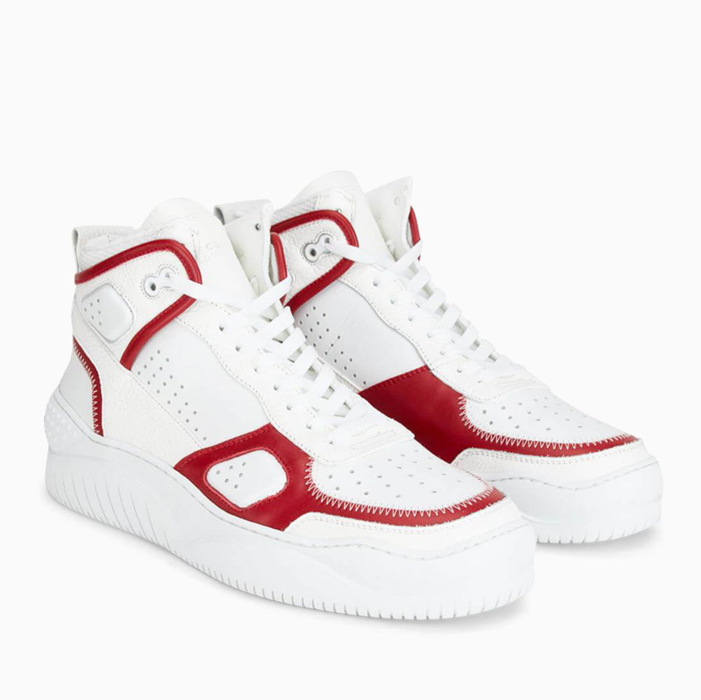 Basket | White / Red-Buscemi