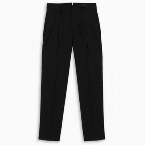 Double Pleat Chino | Black