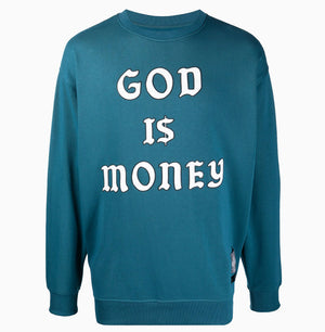 Money Crewneck | Blue