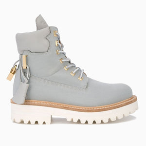 Womens Site Boot Canvas | Grey
