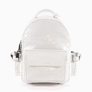 Mini Phd Sequin | White