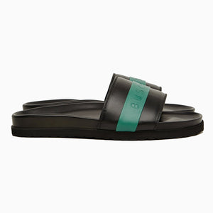 Slides Sport | Black Green-Buscemi