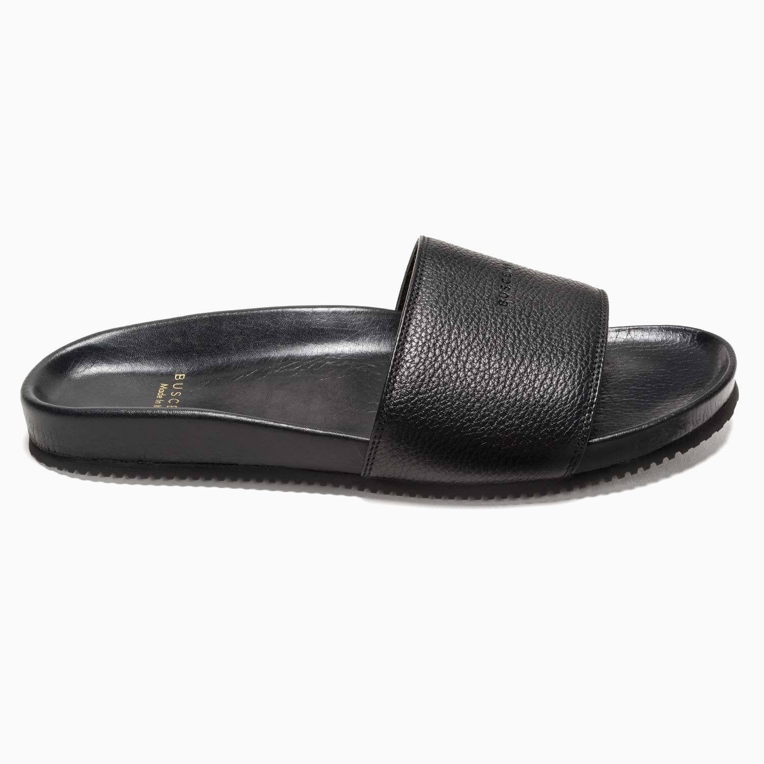 Women's Slides | Black-Buscemi