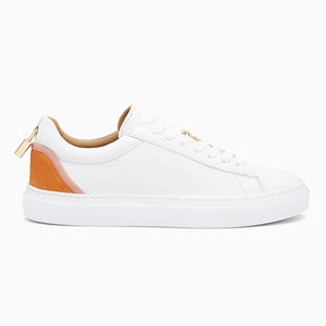 Womens Tennis Lock | White/Orange