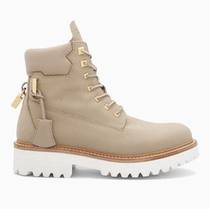 Womens Site Boot Canvas | Tortora