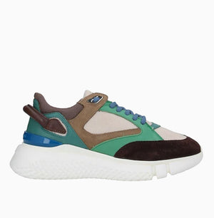 Womens Veloce | Brown/Green