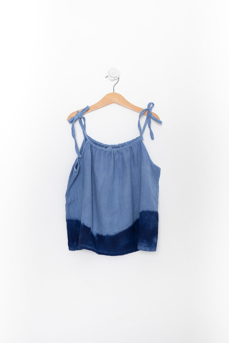 ROLLER DRESS TIE-DYE AZUL
