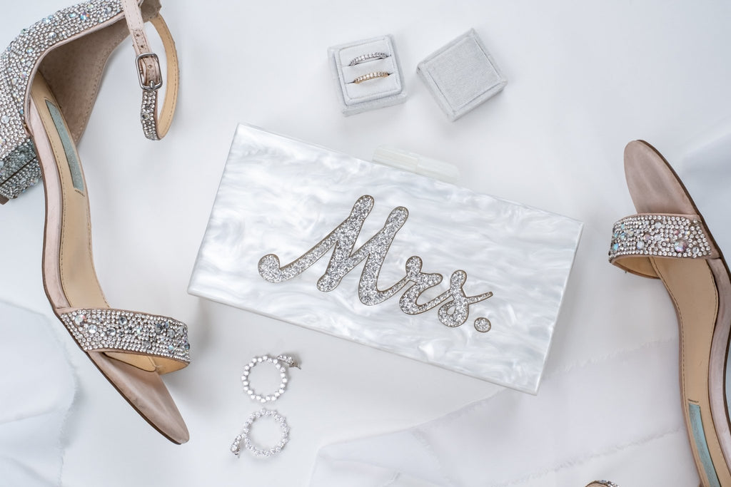 Bridal Acrylic and Crystal Handbags | Bayshore Babe