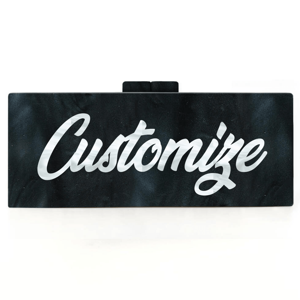 Customized Acrylic Handbag (Large) - Bayshore Babe