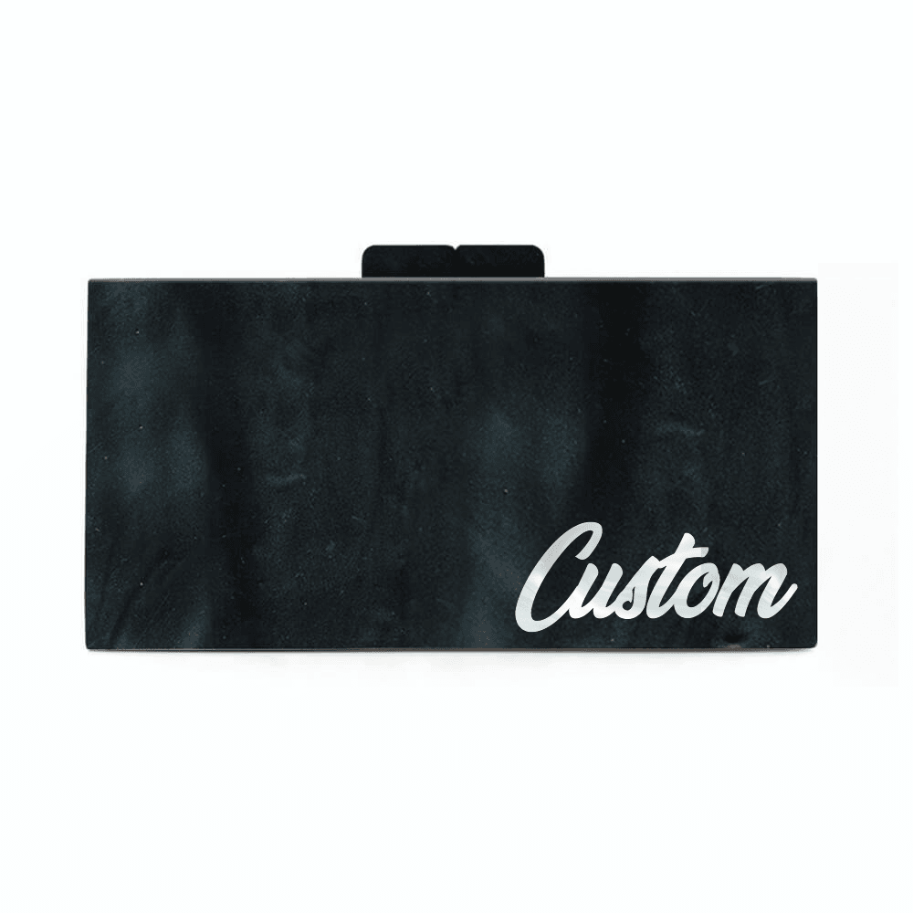 Customized Acrylic Handbag Right Corner Text - Bayshore Babe