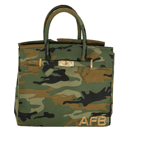 The Tampa Tote Camo Canvas - Bayshore Babe