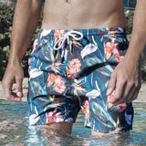 Roscoe Gray Mens Swim Trunk