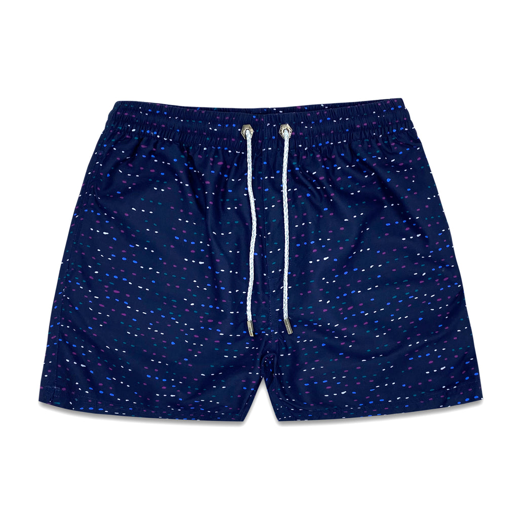 Anglesea Blue Mens Swim Trunk - Bondi Joe Swimwear