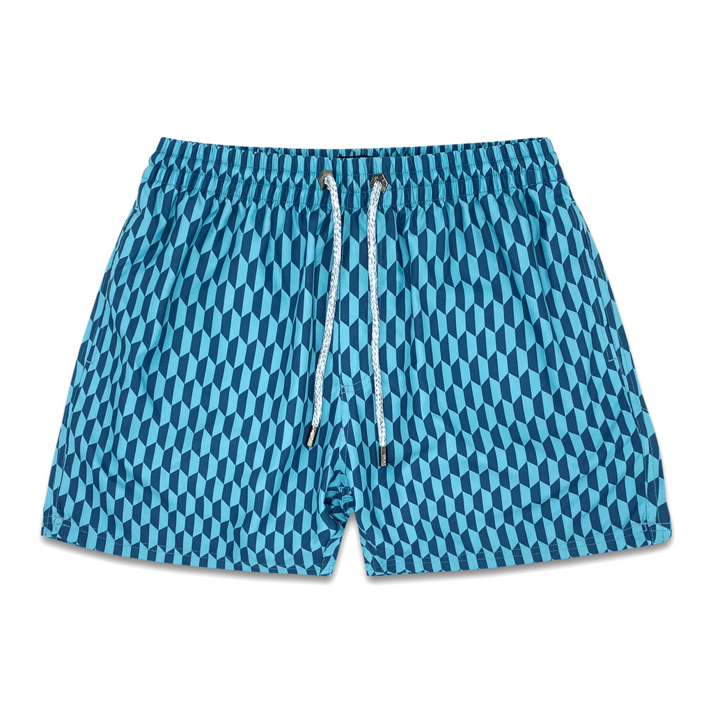 Cutler Mens Swim Trunk - Bondi Joe Swimwear