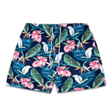 Roscoe Green Mens Swim Trunk - Bondi Joe Swimwear