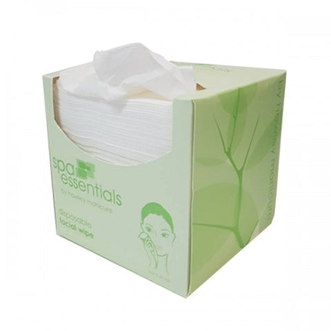 Spa Essentials Disposable Facial Wipes 100pk