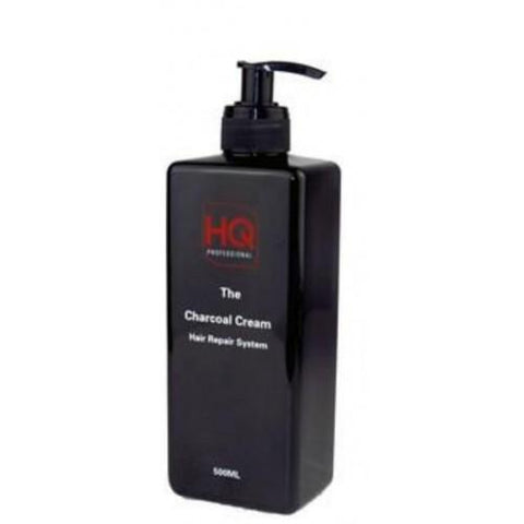 HQ Professional Charcoal Cream Hair Treatment 500ml