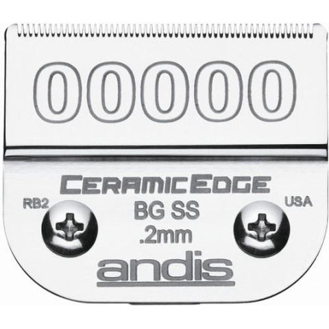 Andis Ceramic Edge Size 00000 #.2mm